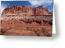 Capitol Reef Majesty Greeting Card