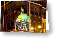 Capitol Reflection Greeting Card