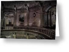Capitol Silence Lansing Michigan Greeting Card