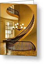 2 - Capitol Staircase - Montgomery Alabama Greeting Card