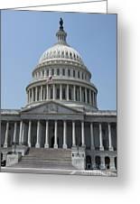 Capitol Washington Dc Greeting Card