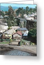 Capitola Trestle Greeting Card