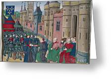 Capitulation Of Bordeaux Greeting Card