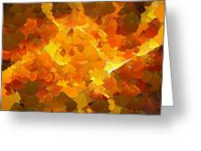 Capixart Abstract 101 Greeting Card by Chris Axford