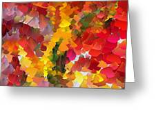 Capixart Abstract 102 Greeting Card by Chris Axford
