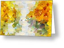 Capixart Abstract 106 Greeting Card by Chris Axford