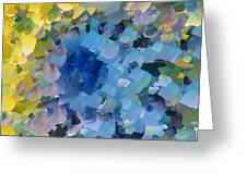 Capixart Abstract 107 Greeting Card by Chris Axford