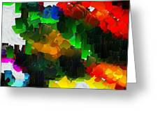 Capixart Abstract 109 Greeting Card by Chris Axford