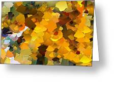 Capixart Abstract 113 Greeting Card by Chris Axford