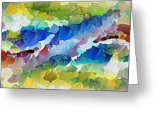 Capixart Abstract 115 Greeting Card