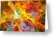 Capixart Abstract 116 Greeting Card