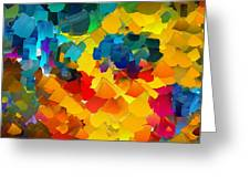 Capixart Abstract 117 Greeting Card