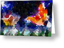 Capixart Abstract 119 Greeting Card