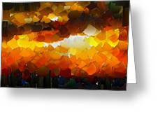 Capixart Abstract 120 Greeting Card