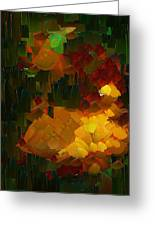 Capixart Abstract 76 Greeting Card by Chris Axford