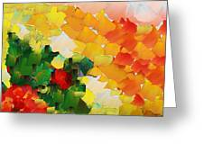 Capixart Abstract 81 Greeting Card by Chris Axford
