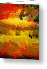 Capixart Abstract 88 Greeting Card