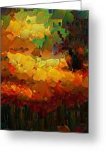 Capixart Abstract 91 Greeting Card