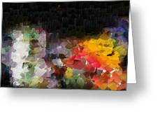 Capixart Abstract 94 Greeting Card