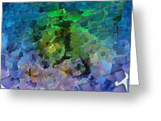 Capixart Abstract 95 Greeting Card by Chris Axford