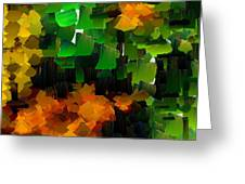 Capixart Abstract 97 Greeting Card by Chris Axford