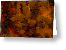 Capixart Abstract 98 Greeting Card by Chris Axford