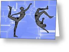 Capoeira 2 Greeting Card