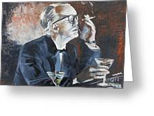 Capote By Hoffman Greeting Card