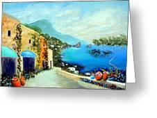 Capri Fantasies Greeting Card