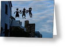 Capricious Quebec City Canada Greeting Card