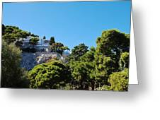 Capri's Gardens Greeting Card
