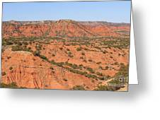 Caprock Canyon 1 Greeting Card