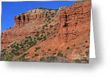 Caprock Canyon 3 Greeting Card