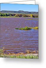 Caprock Canyon-lake Scenic Greeting Card