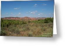 Caprock Canyon Of Texas Greeting Card