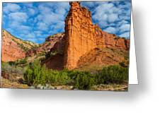 Caprock Canyon Rim Greeting Card