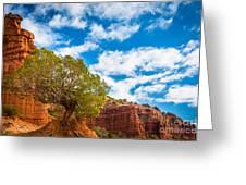 Caprock Canyon Tree Greeting Card