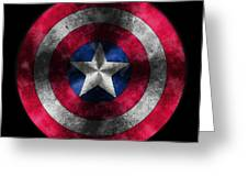 Captain America Shield Greeting Card