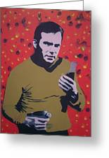 Captain Kirk Greeting Card