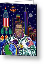 Captain Mitt Romney - American Dream Warrior Greeting Card by Robert SORENSEN