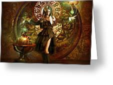 Captain Persephone Greeting Card