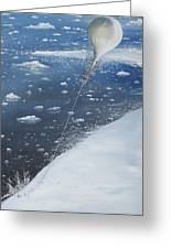 Captain Scott Antarcticas First Aeronaut Greeting Card