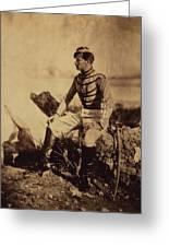 Captain Thomas, Aide-de-camp To General Bosquet Greeting Card