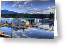 Bayview Marina 2 Greeting Card
