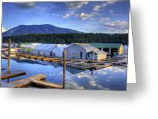 Bayview Marina 3 Greeting Card