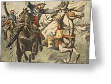 Capture Of Samory By Lieutenant Greeting Card