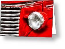 Car - Chevrolet Greeting Card