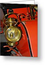 Car Detail Greeting Card by T C Brown