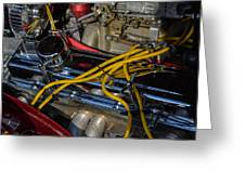 Car Engine Greeting Card