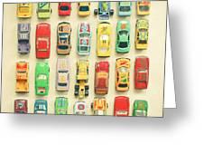 Car Park Greeting Card